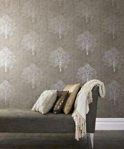 Burlesque Enchant Wallpaper - Golden Brown by New A-Brend
