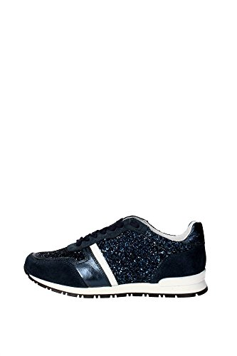 Bikkembergs BKJ103846 Sneakers Donna Camoscio/glitter Blu Blu 38
