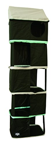 Bark and Meow Hanging Cat Condo Tower House - washable and