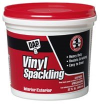 Buy 8 Pack Dap 12130 White Vinyl Spackling (RTU) 1/2 Pint 8 Pack (DAP Painting Supplies,Home & Garden, Home Improvement, Categories, Painting Tools & Supplies, Wallpaper Supplies, Wall Repair)