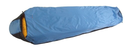 Suisse Sport Adventurer Mummy Ultra-Compactable Sleeping Bag, Left Zipper (Blue)