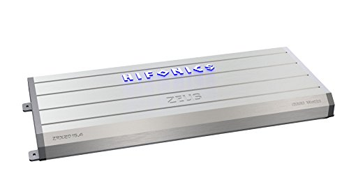 Hifonics ZRX2016.4 Zeus Car Audio Amplifier, 4-Channel 2000-Watt (Hifonics Zeus 1000 Watt Amp compare prices)