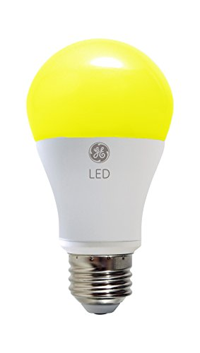 Ge Lighting 92140 Led 7 Watt 40 Watt Replacement 400 Lumen Outdoor Bug Light Bulb With Medium