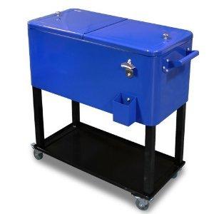 shopperchoice 65 quart cooler beer cart