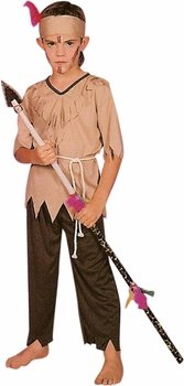 Kid's Indian Native Boy Costume (Size:Small 4-6)