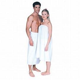 Scalpmaster Terry Cloth Spa Wrap Velcro White