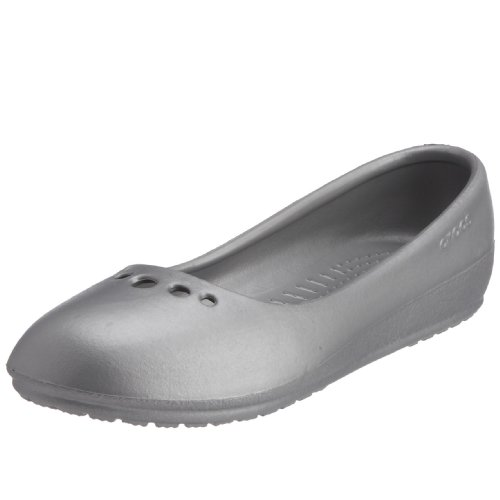 Crocs Womens Prima Silver 10028-040-047 9 UK