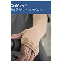 The Original Arm Protector By GeriGlove Seamless Knit Arm Protection Band Cotton Arm Sleeve Small