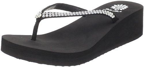 5. Yellow Box Women's Custard Sandal