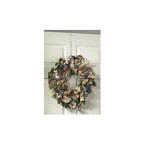 Spectrum Diversified 69000 White Over The Door Wreath Holder (Door Wreaths compare prices)