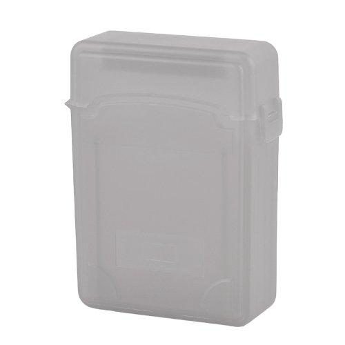Primeshop-Grey Plastic Protection Storage Box Case for Dual 2.5