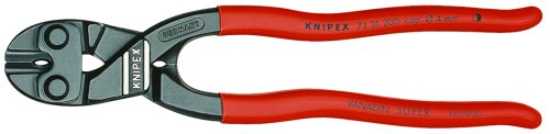 Knipex 7131200 8-Inch Lever Action Mini-Bolt Cutter With Notch
