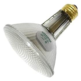  Sylvania 14537 - 50PAR30LN/CAP/SPL/WFL50 - 50 Watt Long Neck PAR30 Halogen Light Bulb, 50 Degree Wide Flood