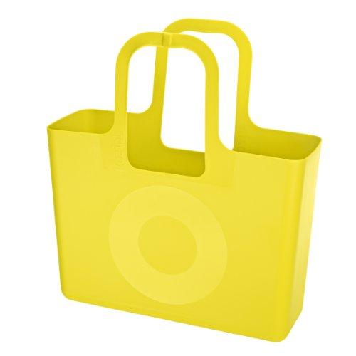 Koziol Borsa Shopper Tasche Xl Di Koziol, Colore Giallo