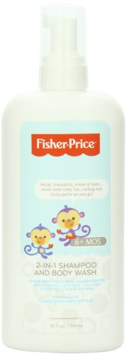 Fisher-Price Infant 2-In-1 Foaming Shampoo and Body Wash,  12 Fluid Ounce