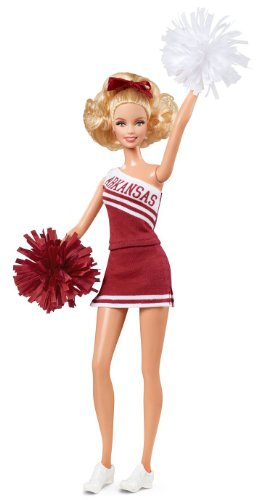 Barbie Collector University of Arkansas Doll - 1