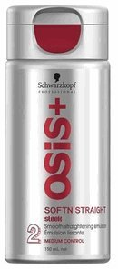 Schwarzkopf Osis Softn' Straight Smooth Straightening Emulsion (5.1 Oz.)