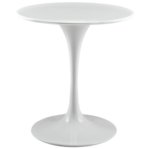 Modern Contemporary 28Inches Side Table White