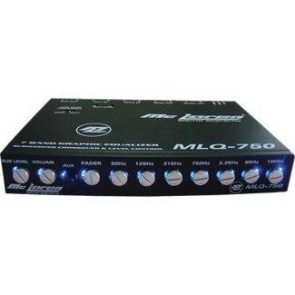 Mclaren Audio Mlq750 7-Band Parametric Equalizer