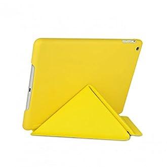 Cygnett CY1323CIPSL HardCase Paradox Sleek Folio for Apple iPad Air - Yellow