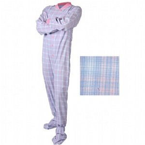 All In One Romper Suits For Adults - Blue And Pink (Small) front-622933