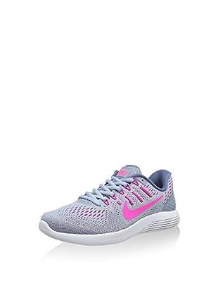 Nike Zapatillas Wmns Lunarglide 8 (Gris / Fucsia)