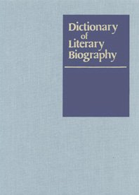 Dictionary of Literary Biography: Elizabethan Dramatists v. 62