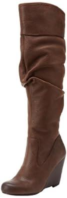 Jessica Simpson Women's Pasha Knee-High Boot,Brown Winter Haze,5.5 M US
