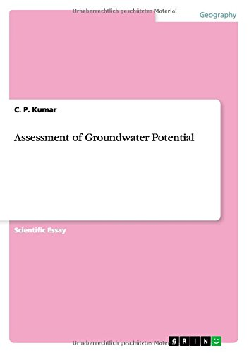 Assessment of Groundwater Potential