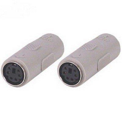 PS/2 6 Pin Mini-DIN Female to Female Adaptor Coupler