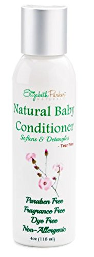 Baby Conditioner - Detangler for Easy to Brush Hair- Relieves Scalp Conditions (Cradle Cap, Dermatitis, Eczema, Dandruff, etc) 4ounce
