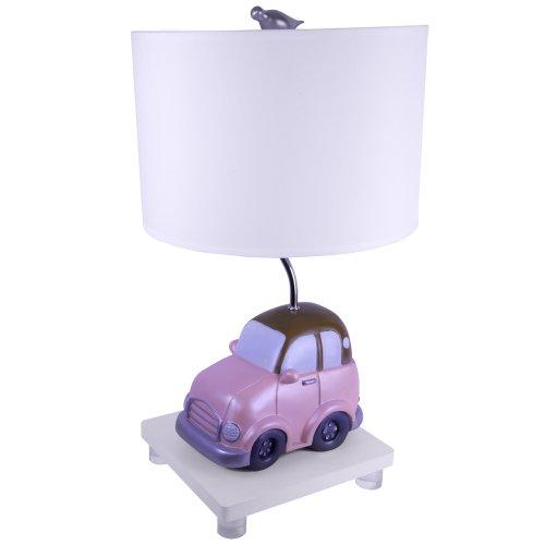 Sammy 8813-87 Beep Beep Table Lamp, Pink