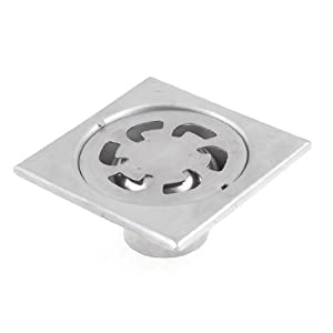 drain strainer sink cover 4 inch outlet silver tone bathroom sink