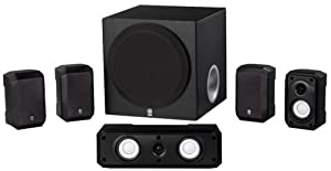 Yamaha NS-SP1800BL 5.1-Channel Home Theater Speaker System $149.95