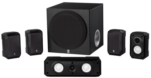 Yamaha NS-SP1800BL 5.1-Channel Home Theater Speaker Package