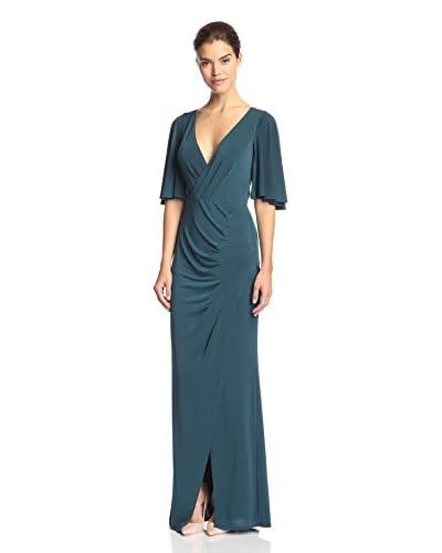 A.B.S. by Allen Schwartz Women's Draped Surplice Gown