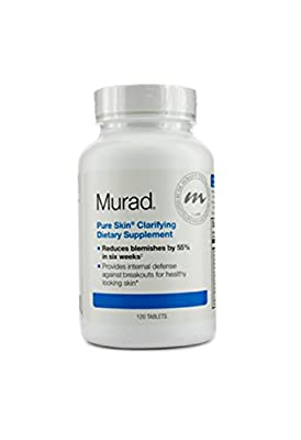 Murad Pure Skin Clarifying Dietary Supplement 120 Tablets