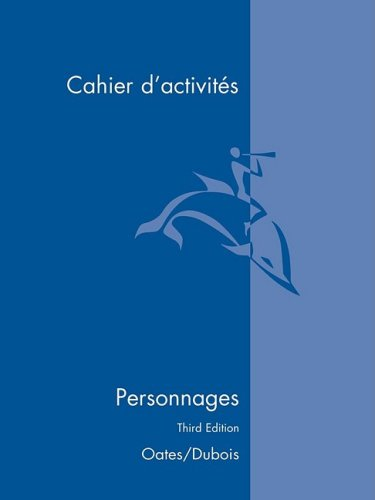 Personnages: Cahier D'Activites (French Edition)