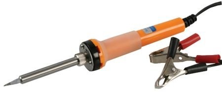 12V Soldering Iron with Battery Clips