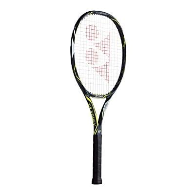 Yonex Ezone DR 100 Tennis Racquet- 43/8 (Dark Gun/Lime)