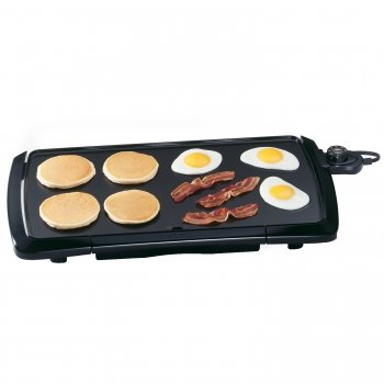 Exclusive Presto 07030 Cool Touch 20-Inch Electric Griddle- Black By Presto