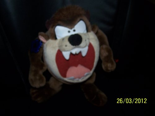 "Looney Tunes Applause Taz Tasmanian Devil Plush 9"" - 1"