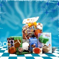 Birthday, Get well Gift Basket for Football Lovers