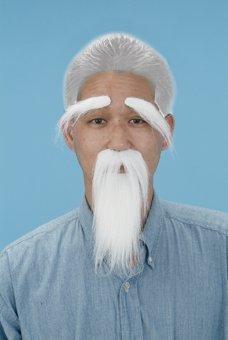 おじいさんのヒゲセット