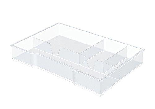 Leitz - Organiseur de tiroir pour bloc de classement Plus et Wow - Transparent