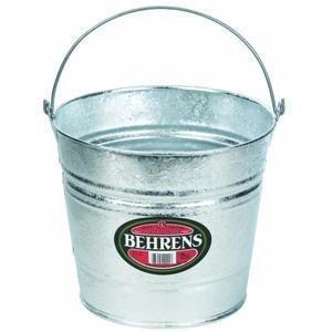 Behrens 1210 10-Quart Steel Pail (10 Qt Steel Bucket compare prices)