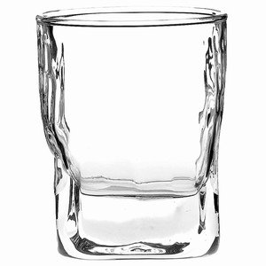 Quartz Double Rocks Tumblers 11.6oz / 330ml - Pack of 6 | 33cl Glasses, Double Old Fashioned Tumblers, Rocks Glasses, Whisky Tumblers from Durobor Glassware