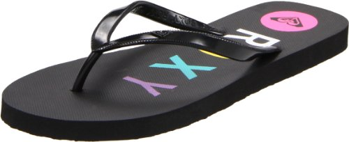 Roxy Women's Bahama III Sandal,Black,7 M US