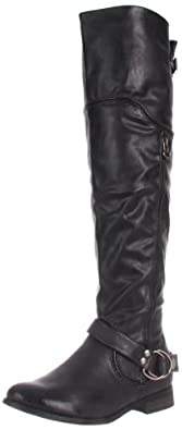 Restricted Women's Park Riding Boot,Black,5.5 M US