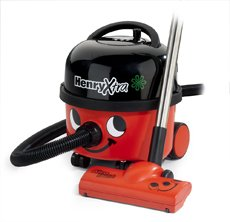 """Numatic Top-Seller Hi-Power 3-Stage Professional Canister Vacuum Cleaner, Hvx200-22, """"Henry Xtra,"""" With Accessory Tool Kit (Color: Red) - The Vacuum Cleaner That Provides An Effective Odor Control System."""